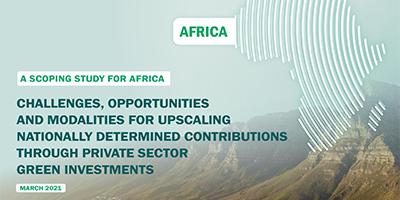 Africa Private sector report on green investments to fight climate change